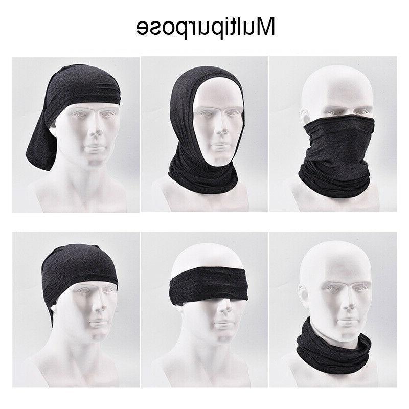 Cooling Sunscreen Mask Cover Gaiter Balaclava Bandana Headwear Scarves