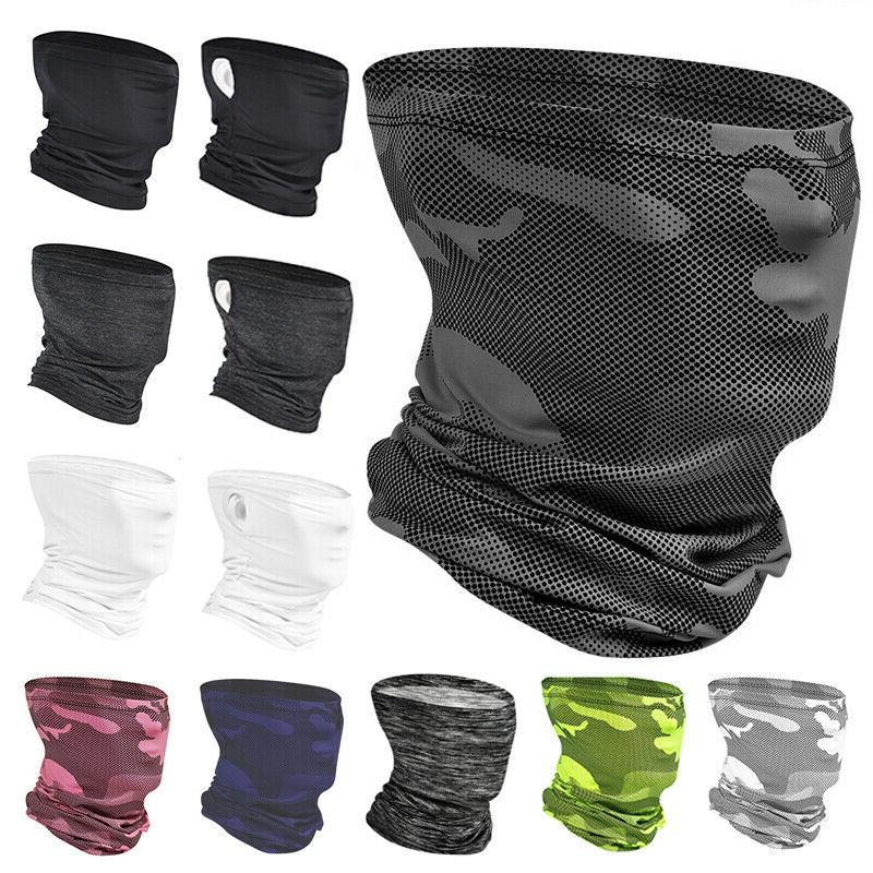 cooling sunscreen face mask cover neck gaiter