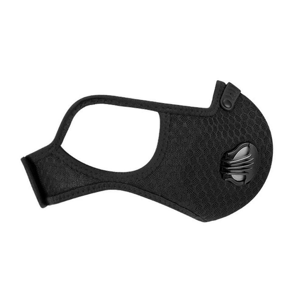 Breathable Face Mask Filter Sport Exhaust Washable Air