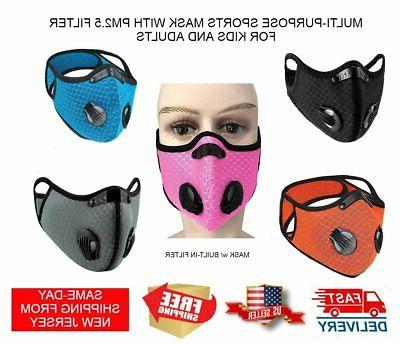 cycling sports mask w pm2 5 activated