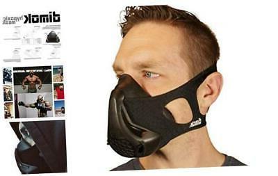 dimok workout mask training breathing mask