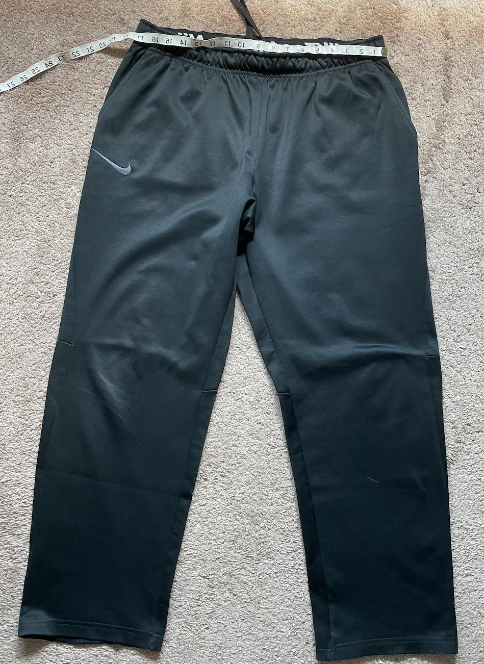 NIKE MEN'S XL SWEATPANTS BLACK