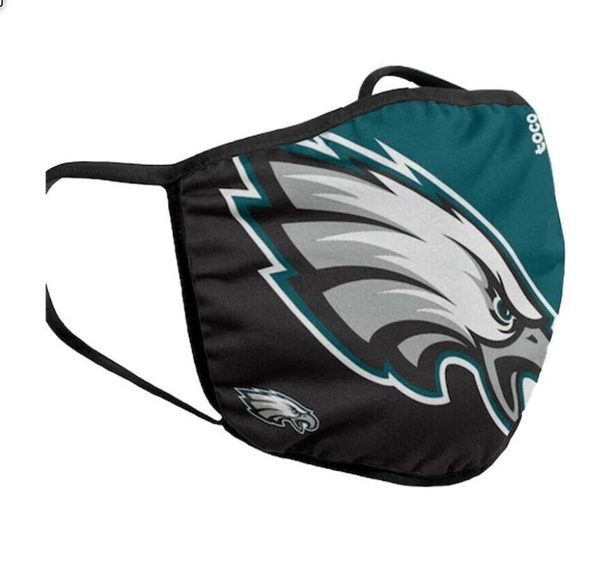 Eagles Face Mask. NFL Team Ship US