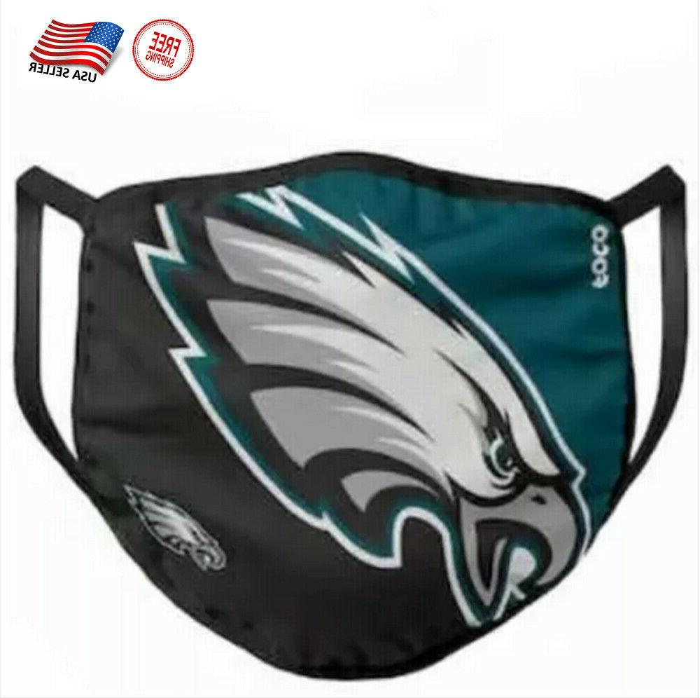 eagles face mask washable and cotton filter