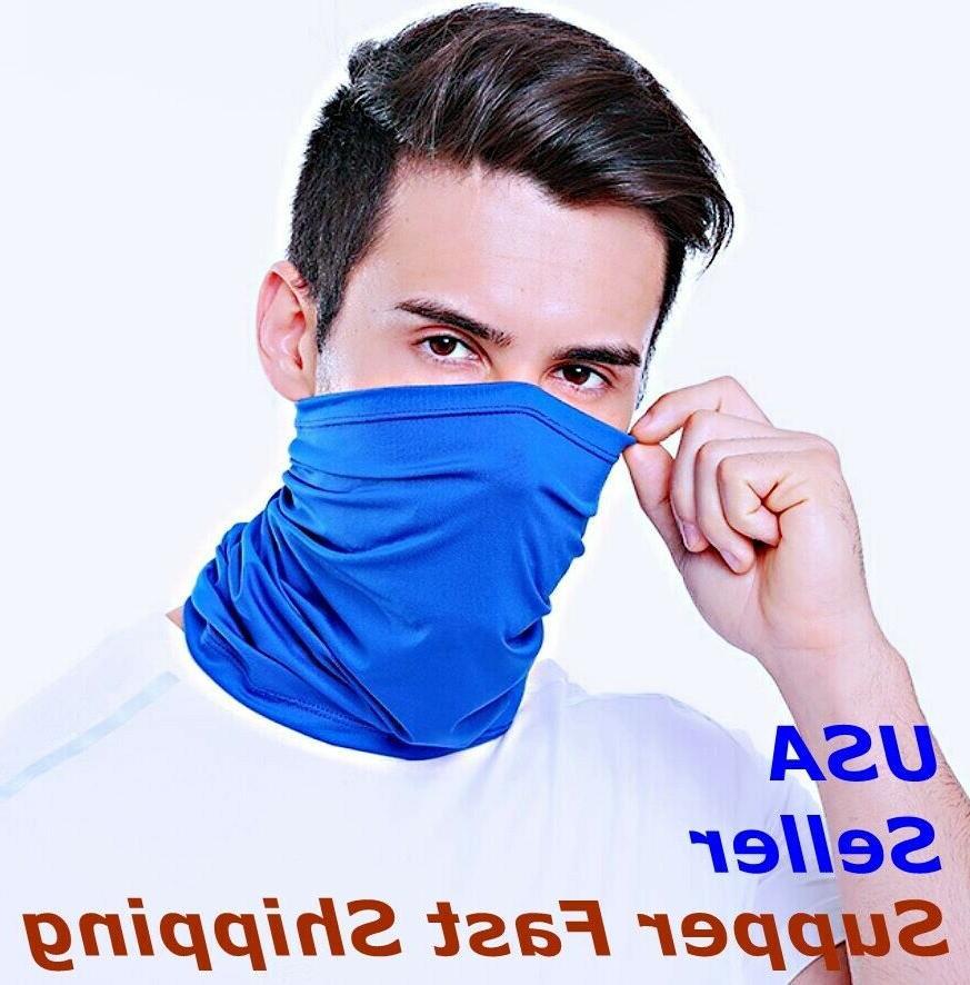 elastic multi use tube bandana face mask