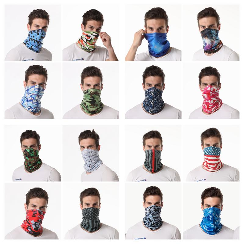 Elastic Face Multi-Use Cooling Covering Gaiter Balaclava Scarf