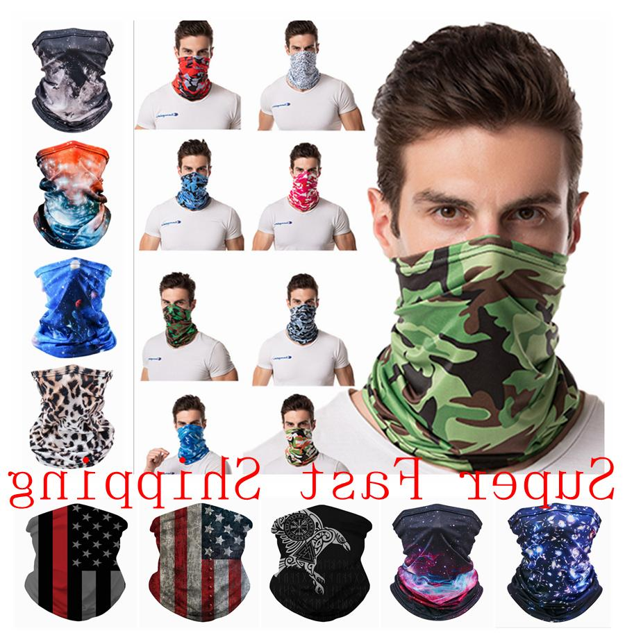 elastic silky face mask cover multi use