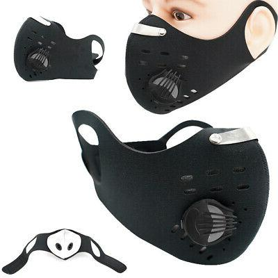 face mask cycling anti pollution activated carbon
