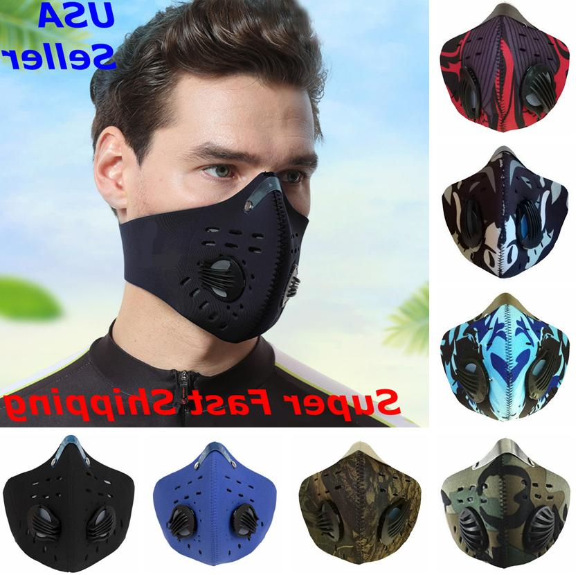 Face Mask Reusable Sports Cover Dual Covering 2.5