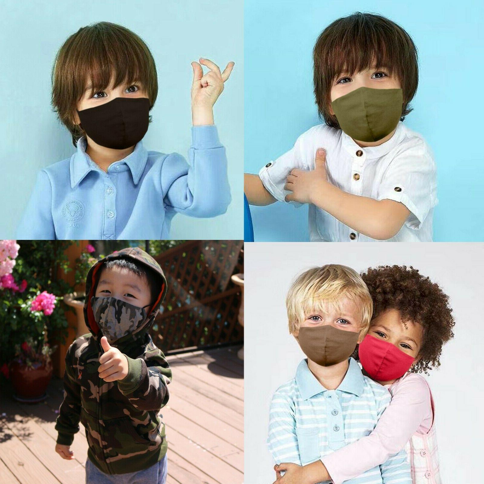 Face Mask Washable S/M/L/XL Cotton Unisex Made-in-US