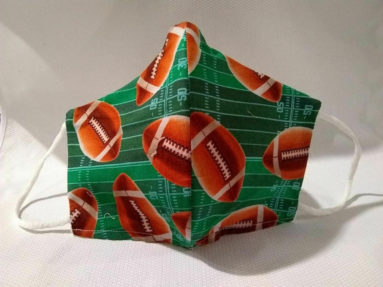 football sports cloth face cover mask ear