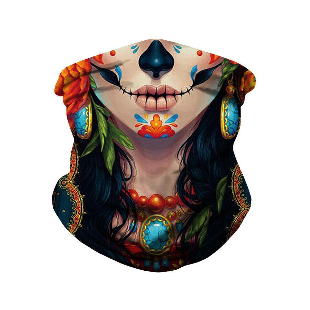 Halloween Face Breathable Reusable
