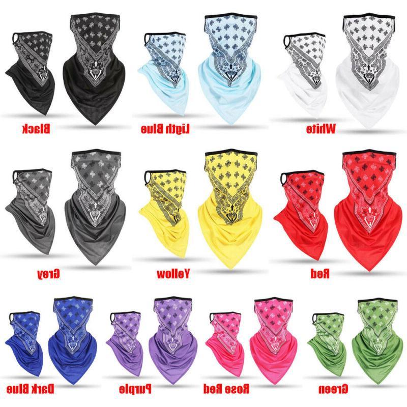 Ice Silk Bandana Triangle Neck Mask