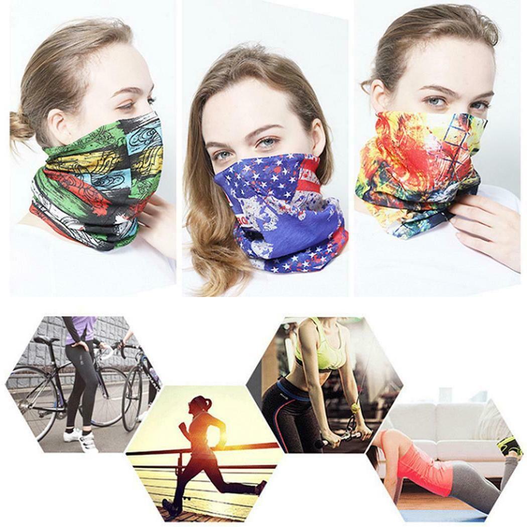 ice silk summer cycling face mask headscarf