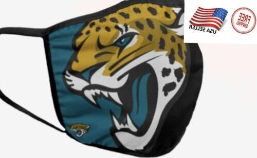 jacksonville jaguars nfl face mask washable reusable