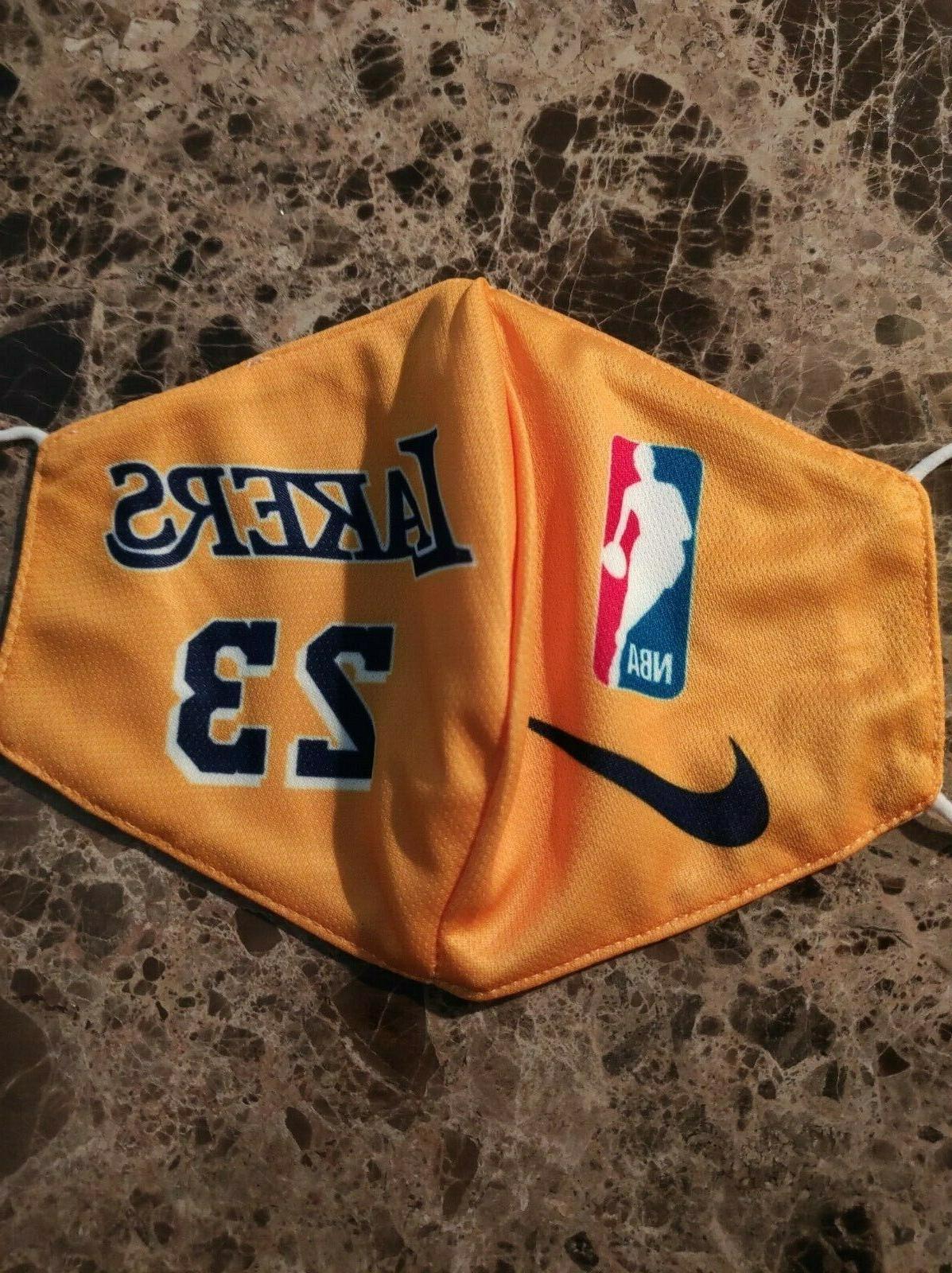 Lakers #23 Face Mask Pocket