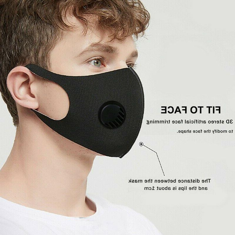 Lightweight Cloth Face Mask Covering Air Breathing