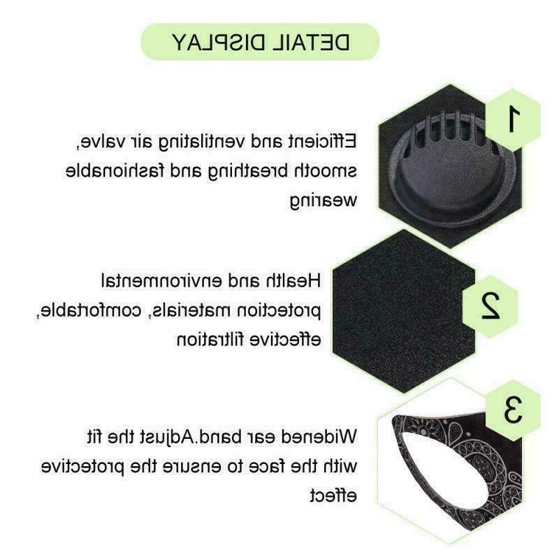 Lightweight Reusable Cloth Face Mask Air