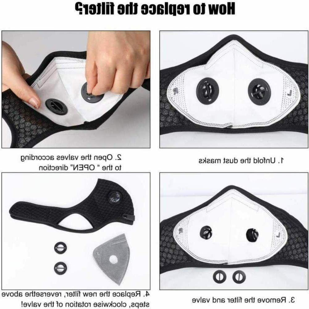 Mask Reusable Carbon Mask Adjustable