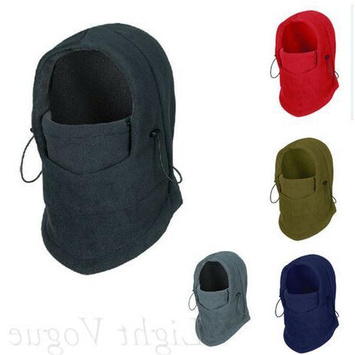 Men Women Winter Warm Full Face Cover Ski Mask Sport Outdoor ly00