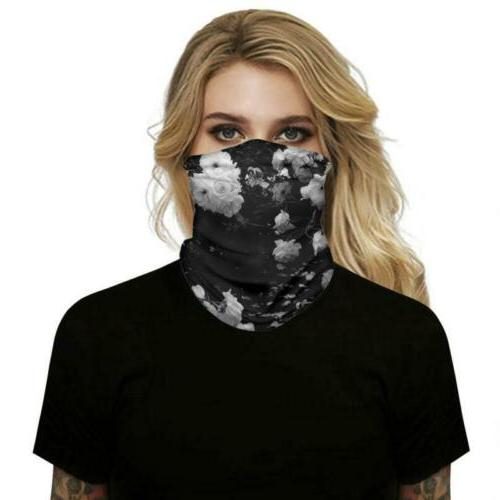 Motorcycle Bandana Face Mask Head Neck Gaiter Mouth Snood