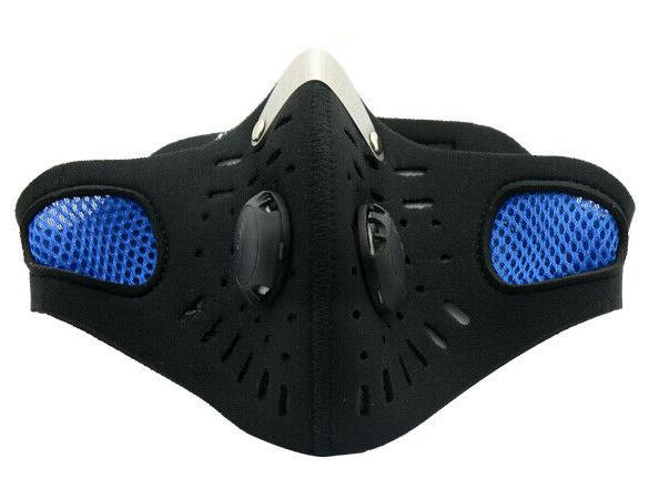 Blue Outdoor Riding Face filter PM2.5 From USA
