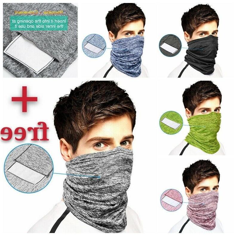 multiuse elastic face mask cover cooling bandana