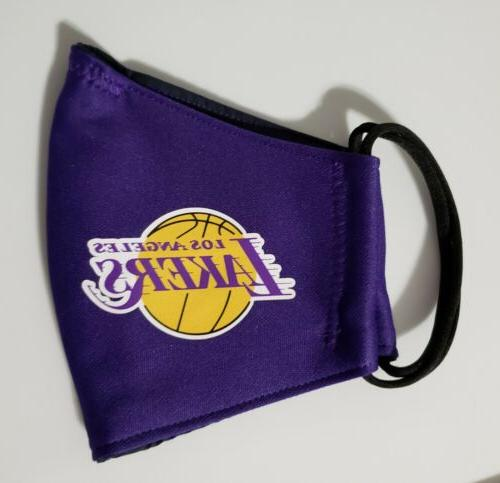 NBA Lakers Mask Fabric Washable, Made In