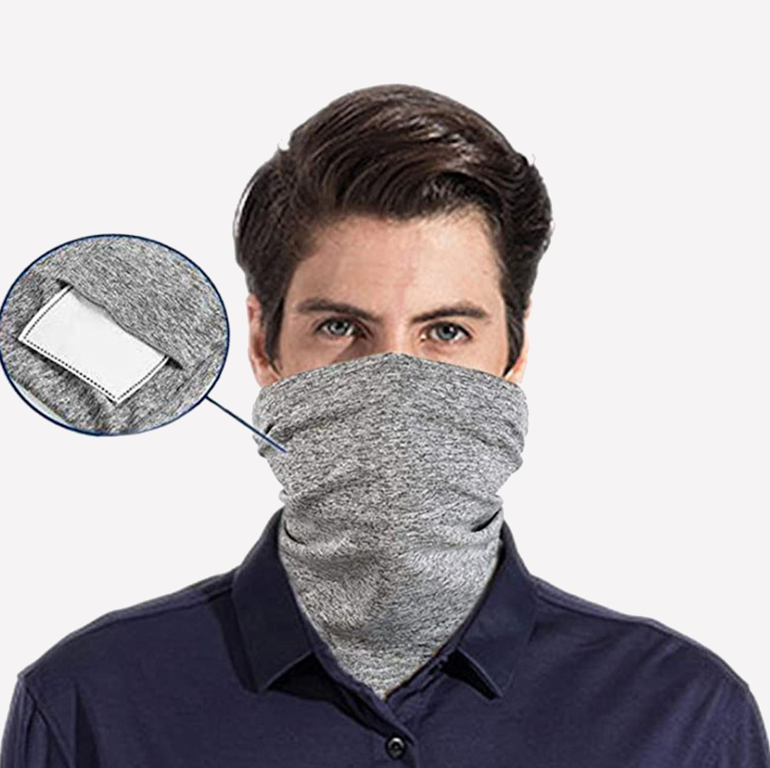 Neck Gaiter with Shield Mask