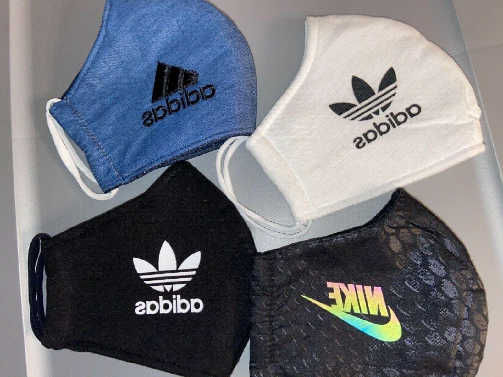 New Adidas Nike Mask 100% Cotton