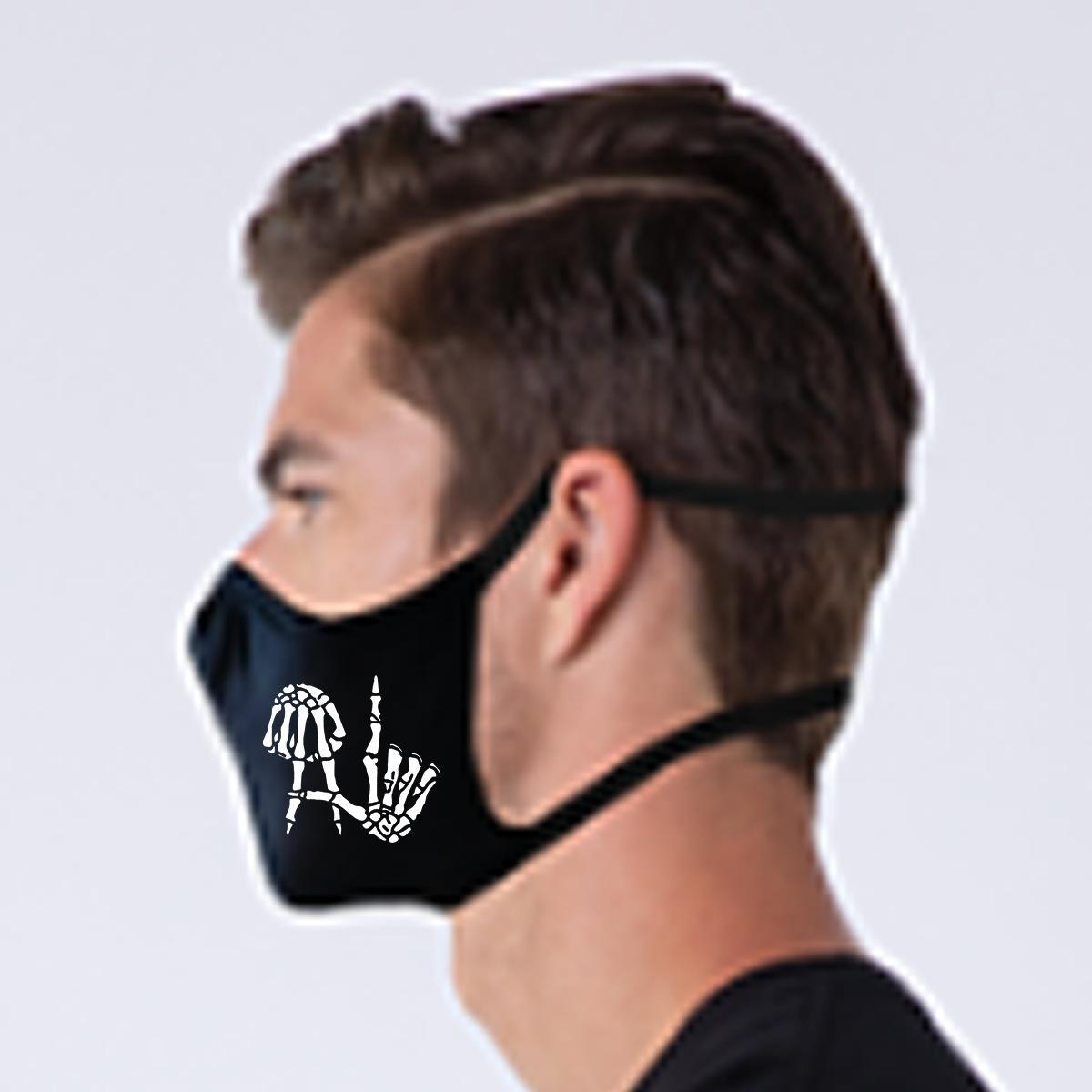NEW Size Layered LA Fingers Mask 2 colors ear stress Hood