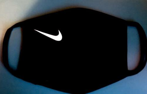 New Stretch Black Soft Cotton Washable Nike Face Covering Ma