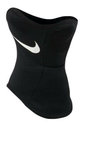 New Nike Dri-FIT Strike Snood Face Scarf Black/White sports