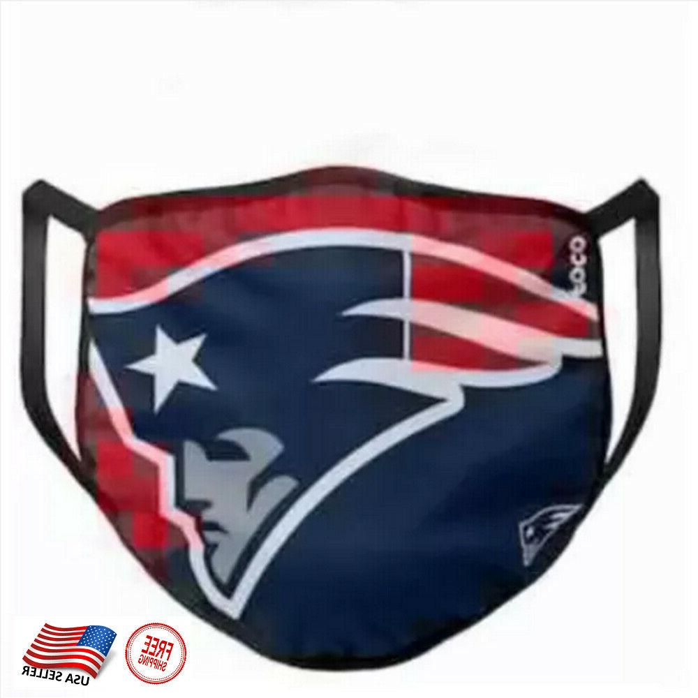 new england patriots face mask washable stretch