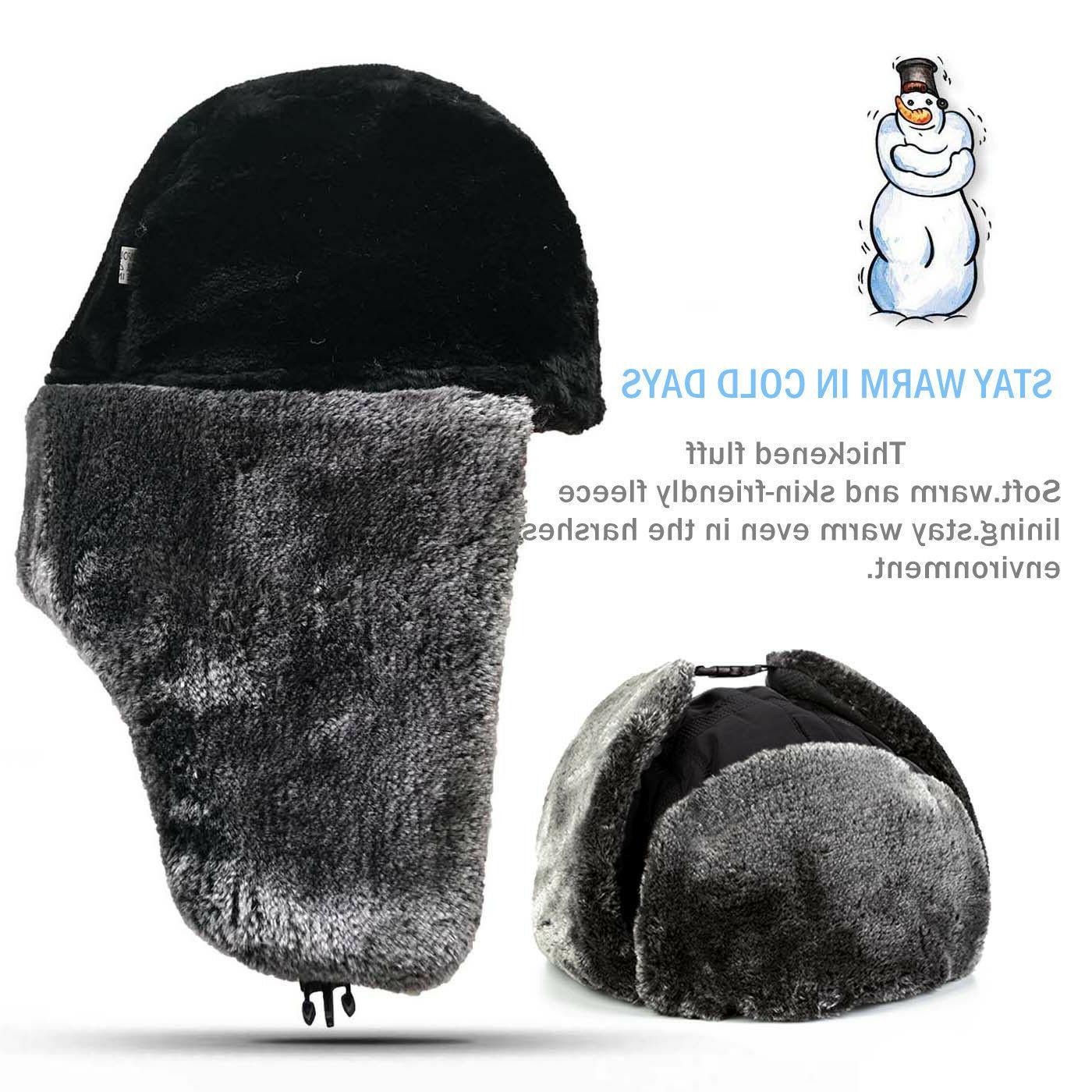 New Russian Hat Snow Ski