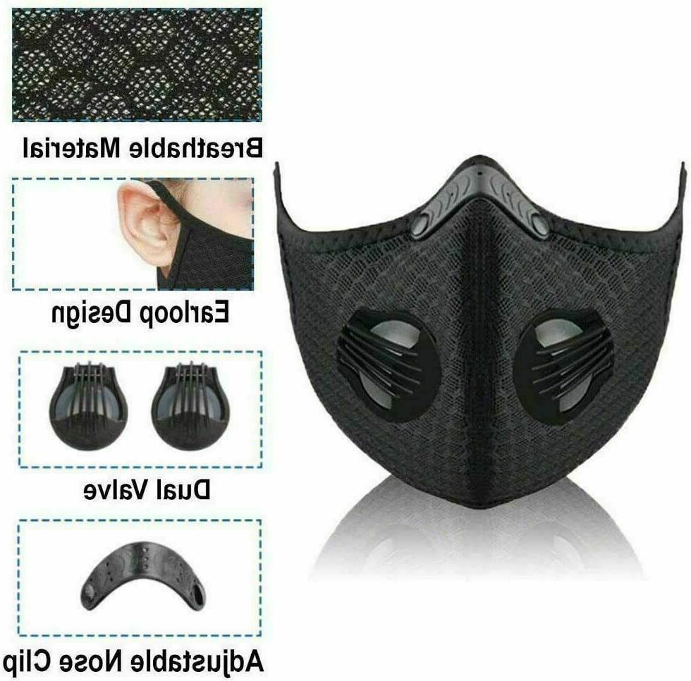 NEW Cycling Mask Active Filter Valves