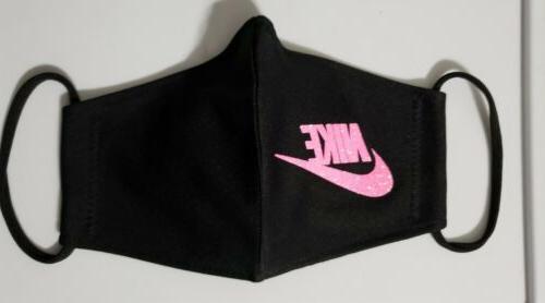 Nike Mask Fabric Reusable Handmade In