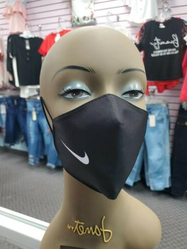 nike logo face mask washable reusable face