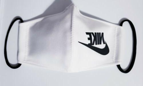 Nike White Black. Mask Handmade