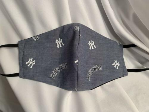 Ny Baseball MLB Team New York facemask