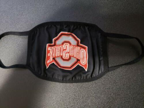 Official Ohio State Face Mask Reusable College Football Spor
