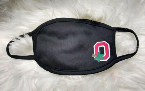 ohio state buckeyes face mask facial covering