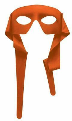 Orange Eye Mask With Ties Michelangelo Teenage Mutant Ninja