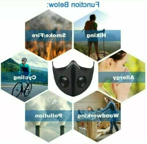 Outdoor Mask with carbon Filter