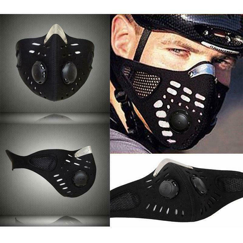 outdoor riding mask air purifying pm2 5