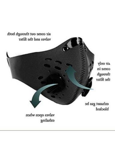 outdoor sports cycling face mask reusable