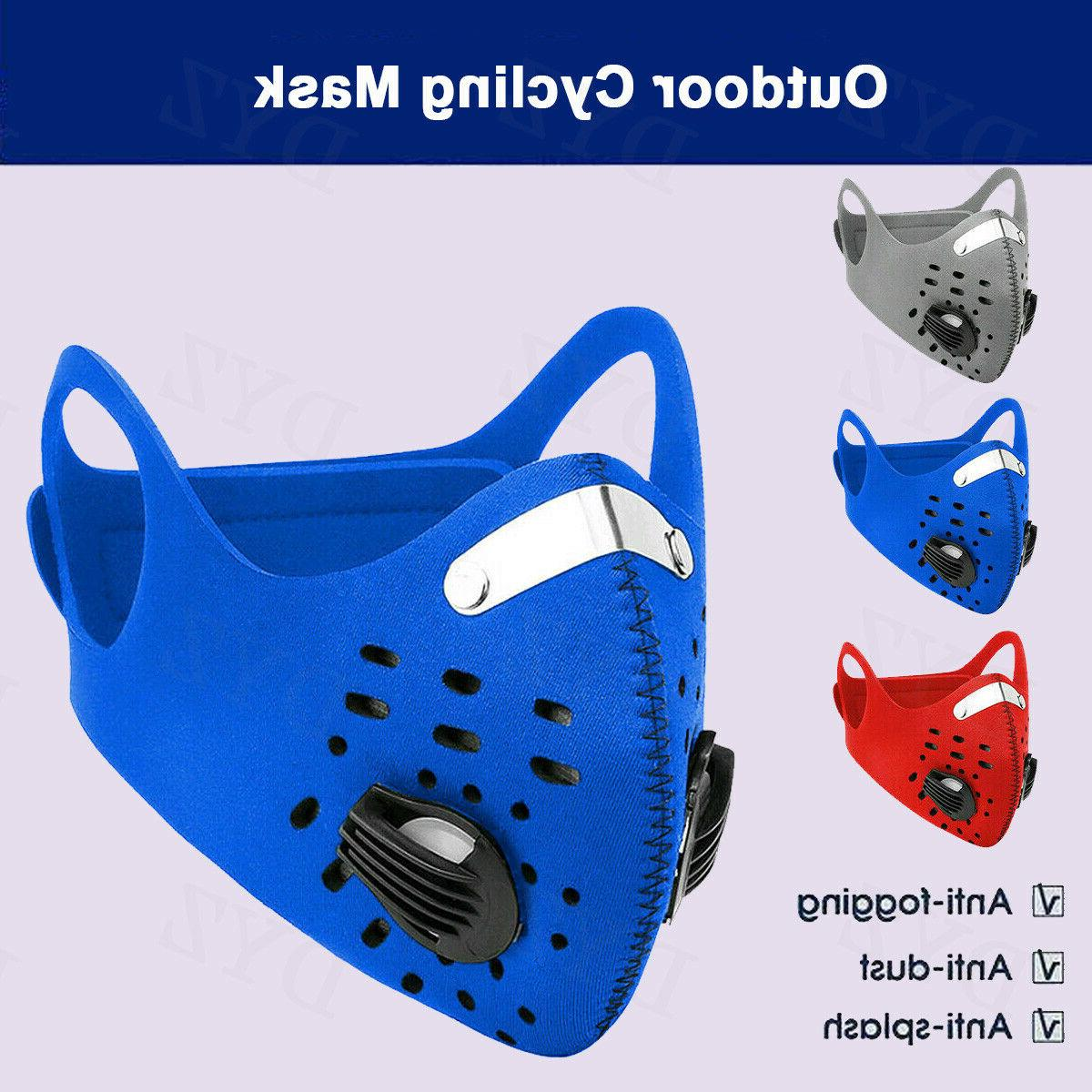 Outdoor Mask Carbon Neoprene Cycling Mask