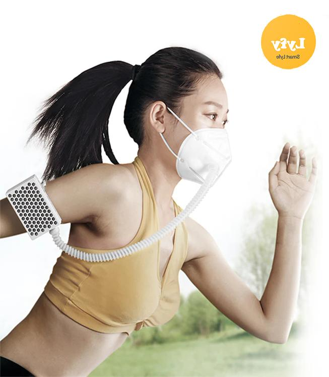oxygen ventilator sports mask 3 speed airflow