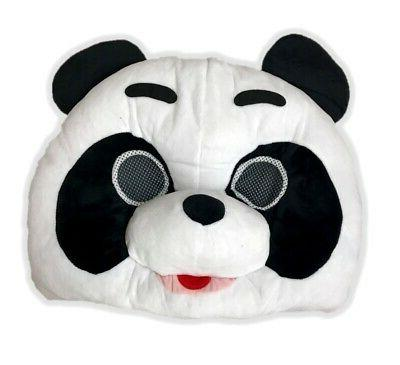 panda bear mascot animal head mask school
