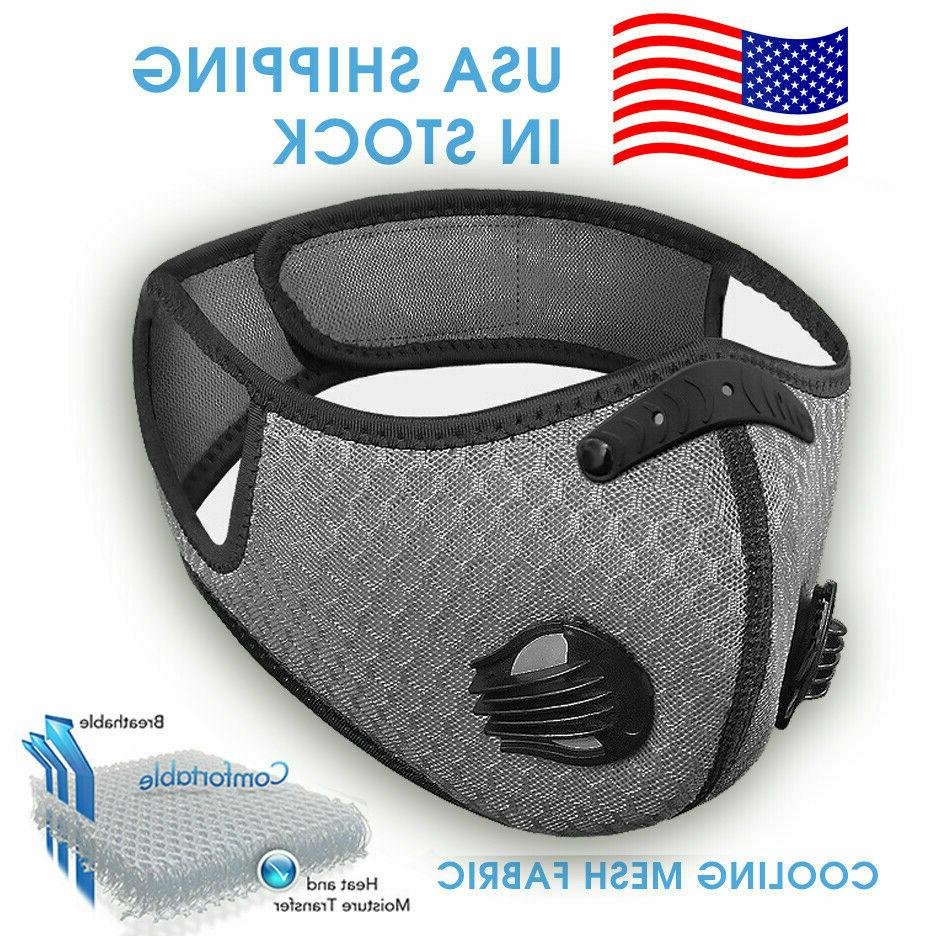 NEW Reusable Style Face Mask With Active Carbon